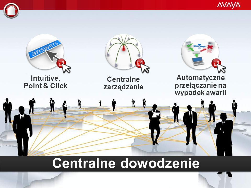 © 2012 Avaya Inc. All rights reserved. 30 Avaya - Restricted, Confidential and Proprietary Avaya IP Office profile pracowników Also available: Office