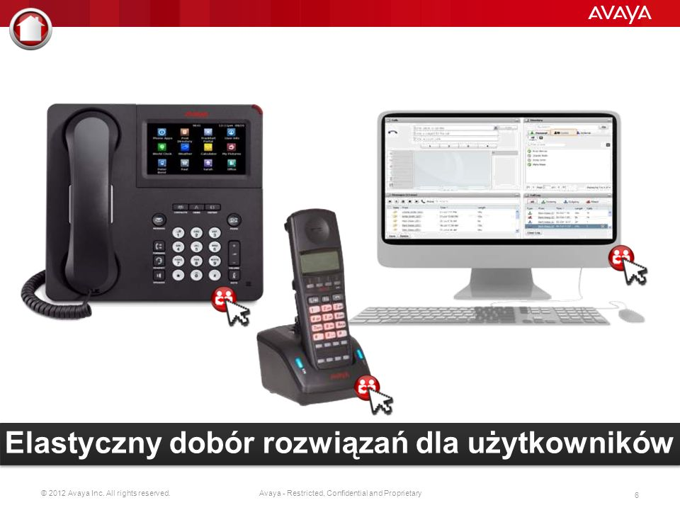 © 2012 Avaya Inc. All rights reserved. 5 Avaya - Restricted, Confidential and Proprietary Back-up
