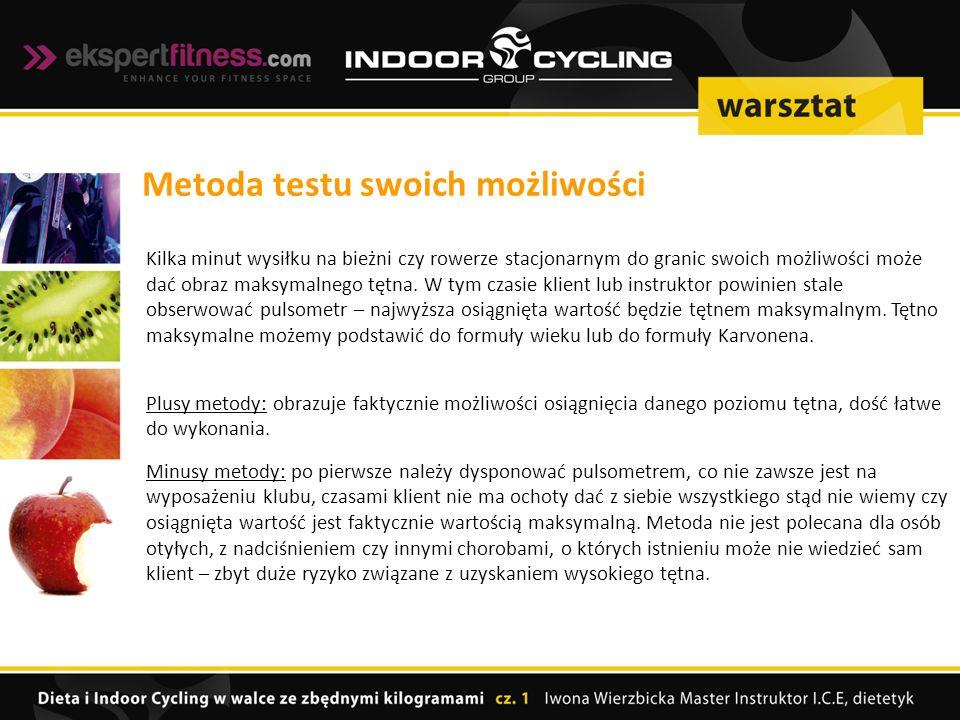 Kilka minut wysiłku na bieżni czy rowerze stacjonarnym do granic swoich możliwości może dać obraz maksymalnego tętna.