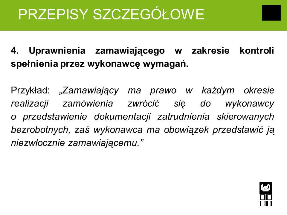 PRZEPISY SZCZEGÓŁOWE 4.