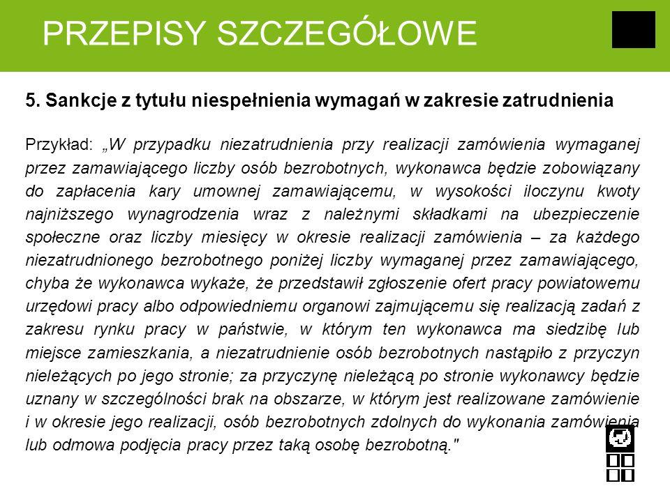 PRZEPISY SZCZEGÓŁOWE 5.