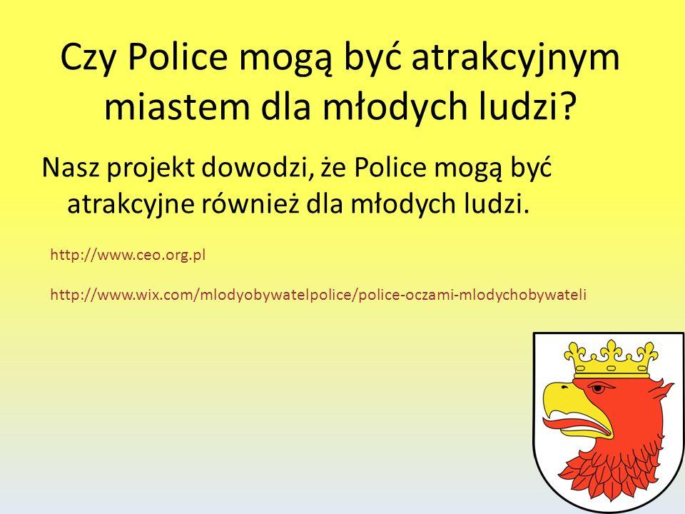 Czy Police mogą być atrakcyjnym miastem dla młodych ludzi? Nasz projekt dowodzi, że Police mogą być atrakcyjne również dla młodych ludzi. http://www.c