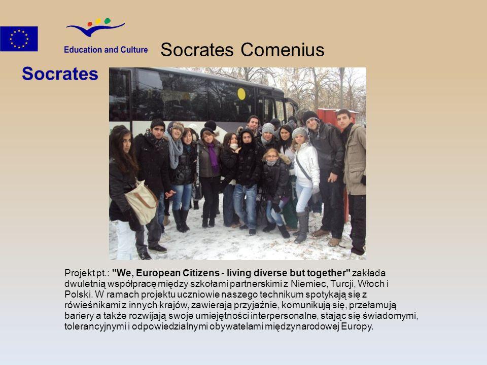 Socrates Comenius Projekt pt.: