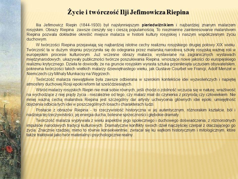 1844 24 lipca 1844 24 lipca w mieście Czugujew charkowskiej guberni urodził się Ilja J.
