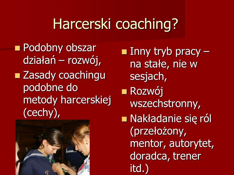 Harcerski coaching.
