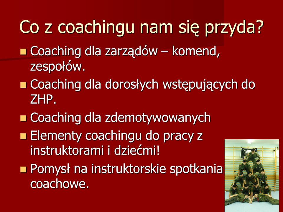 Co z coachingu nam się przyda.Coaching dla zarządów – komend, zespołów.