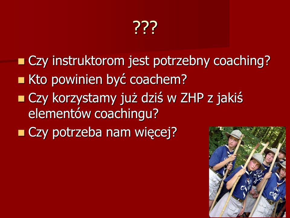 ??.Czy instruktorom jest potrzebny coaching. Czy instruktorom jest potrzebny coaching.