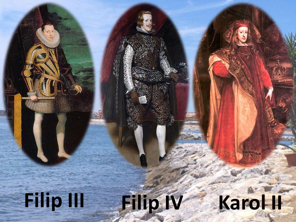 Dynastia Burbonów Panowała w latach : 1700 - 1808 Filip V Ludwik I Ferdynand VI