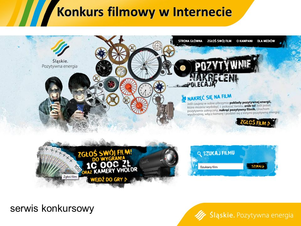 serwis konkursowy Konkurs filmowy w Internecie