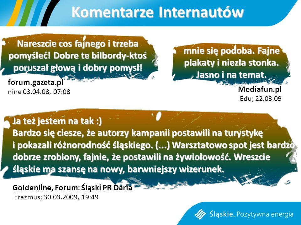 Ja też jestem na tak :) Bardzo się ciesze, że autorzy kampanii postawili na turystykę i pokazali różnorodność śląskiego.