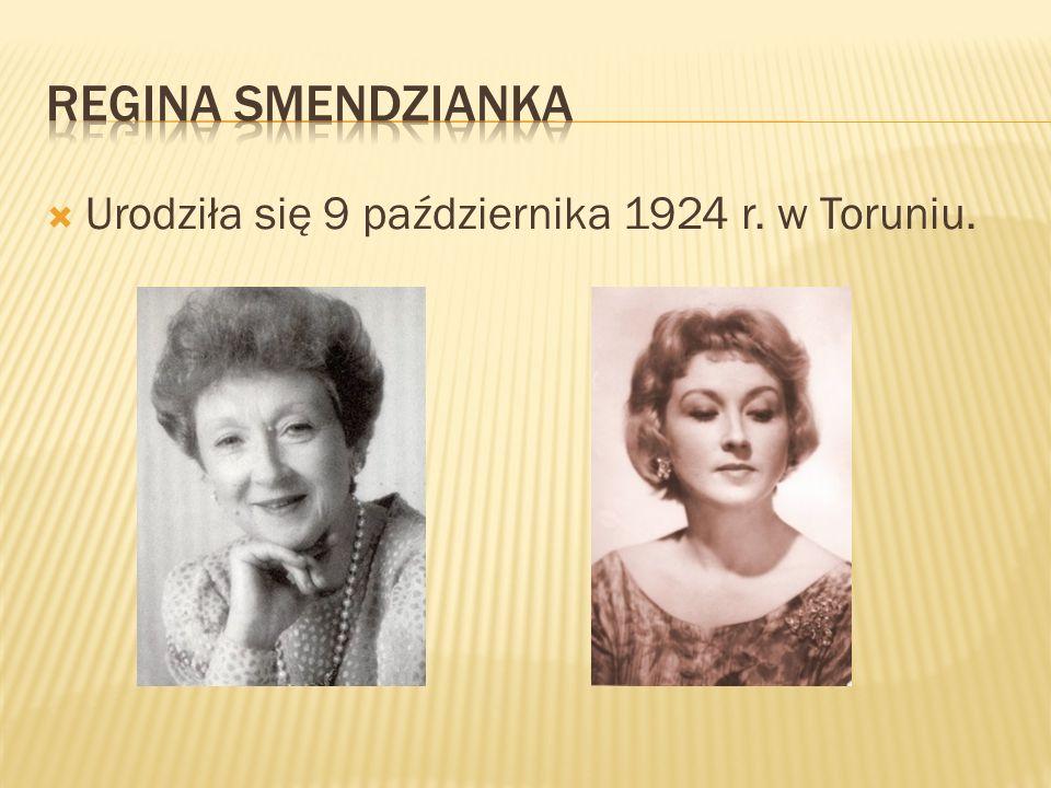 Urodziła się 9 października 1924 r. w Toruniu.