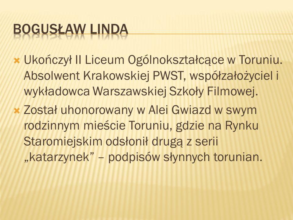 Ukończył II Liceum Ogólnokształcące w Toruniu. Absolwent Krakowskiej PWST, współzałożyciel i wykładowca Warszawskiej Szkoły Filmowej. Został uhonorowa