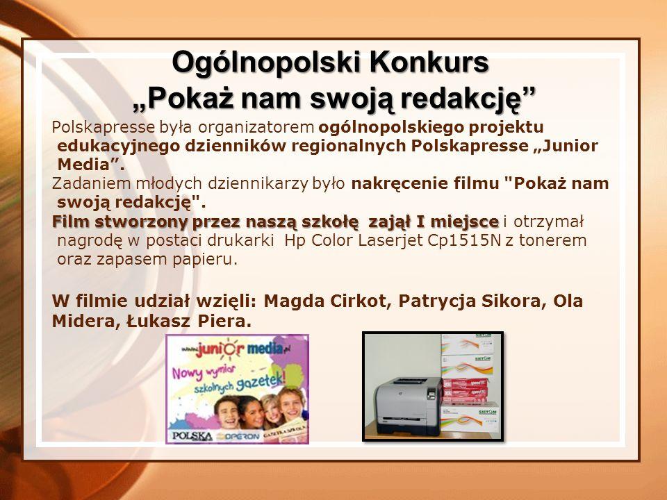 Polskapresse była organizatorem ogólnopolskiego projektu edukacyjnego dzienników regionalnych Polskapresse Junior Media. Zadaniem młodych dziennikarzy