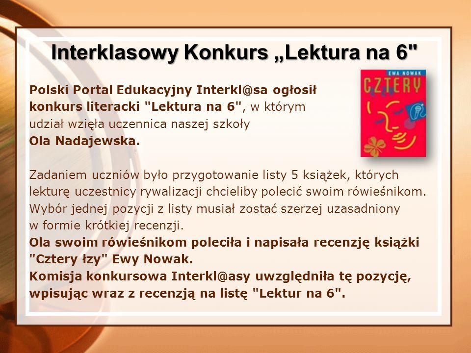 Polski Portal Edukacyjny Interkl@sa ogłosił konkurs literacki