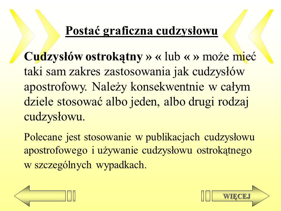 Cudzysłów w cudzysłowie T.