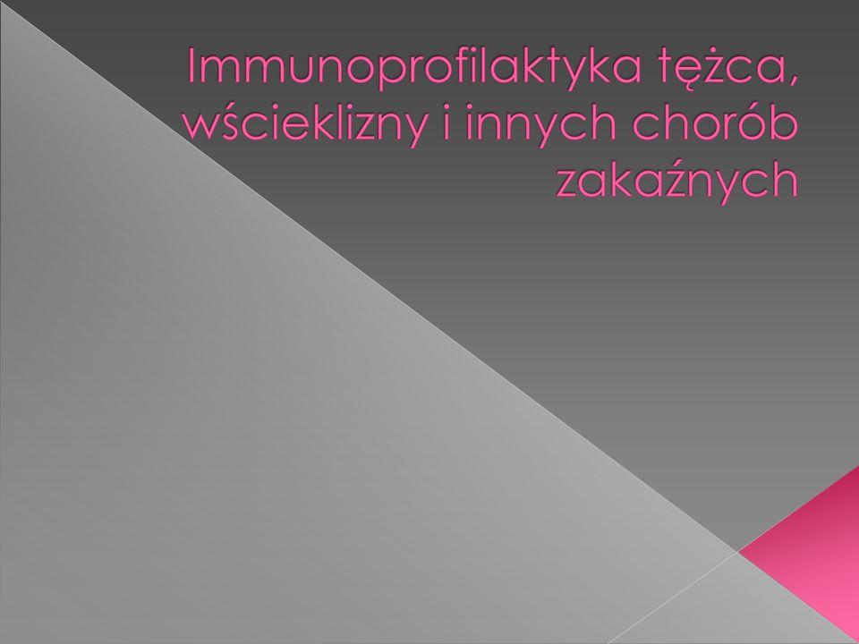Jednoczesne podanie szczepionki w celu uodpornienia na dłuższy czas i immunoglobiny w celu szybkiego uodpornienia Podanie w odległe od siebie części ciała Uodpornienie ponarażeniowe, po ekspozycji na zakażenie, po kontakcie