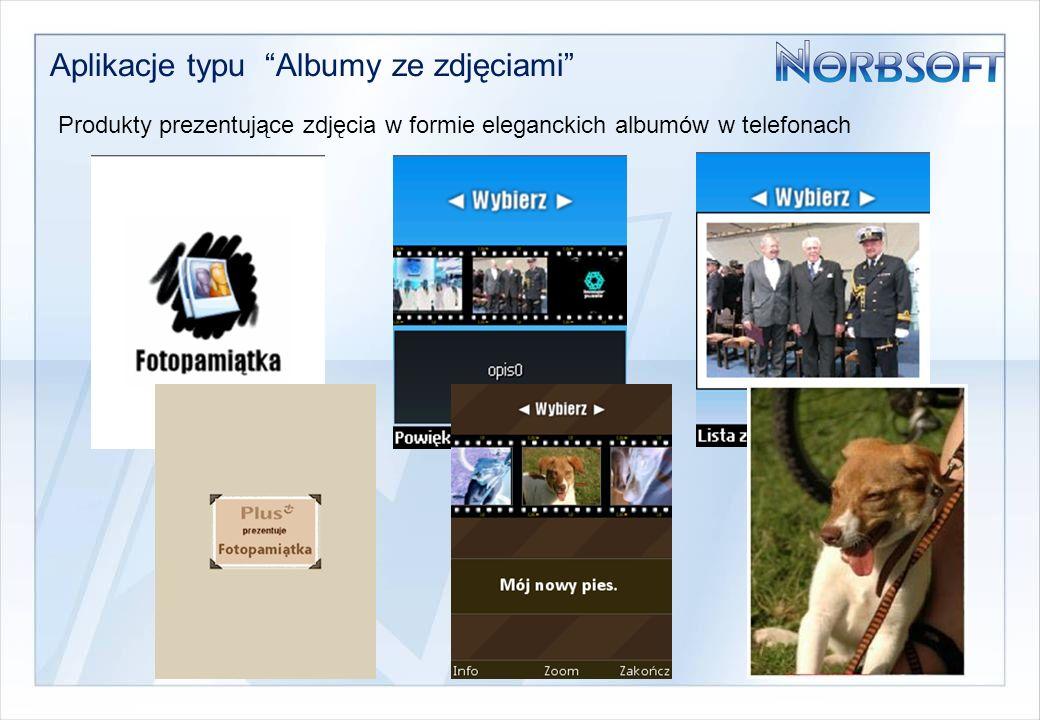 Aplikacje typu Albumy ze zdjęciami Produkty prezentujące zdjęcia w formie eleganckich albumów w telefonach