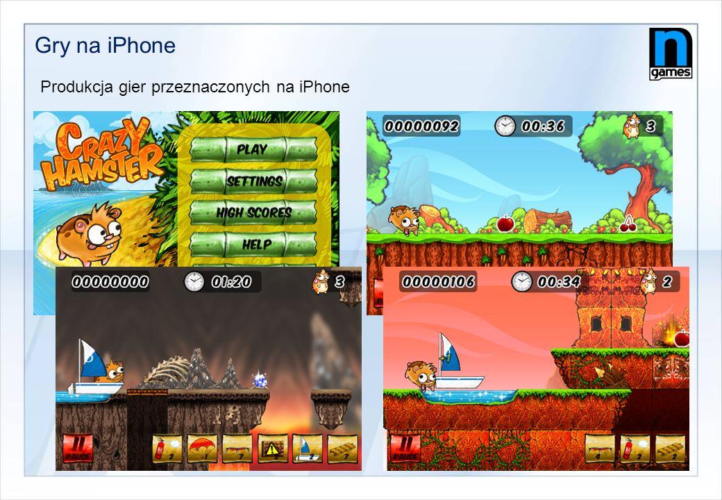 Gry na iPhone Produkcja gier przeznaczonych na iPhone