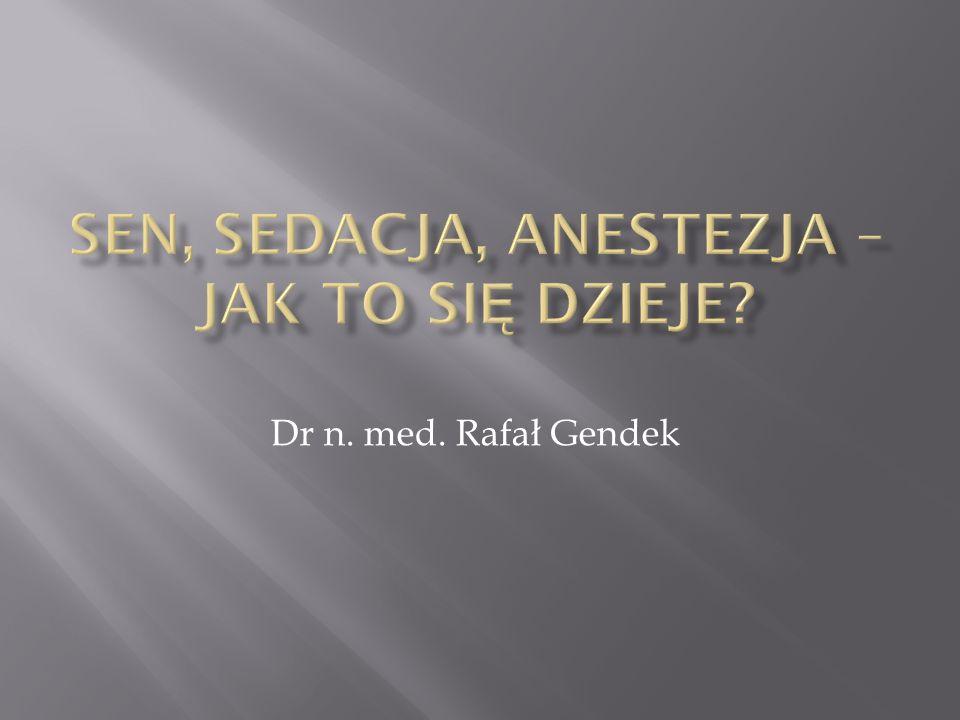 Dr n. med. Rafał Gendek