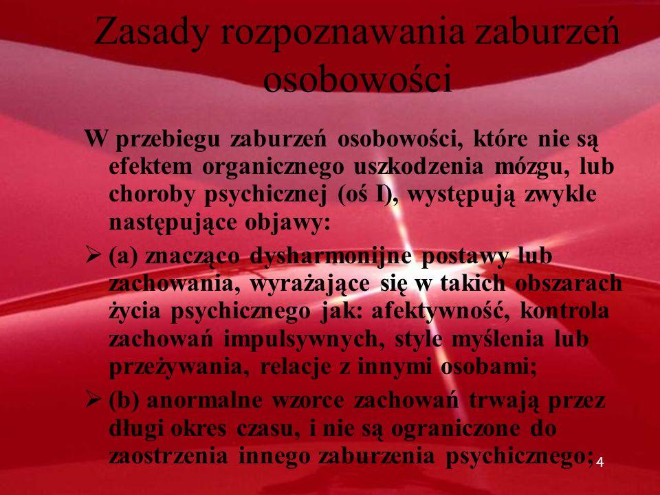 84 Etiologia antysocjalnego ZO – czynniki rodzinne Raine i in.