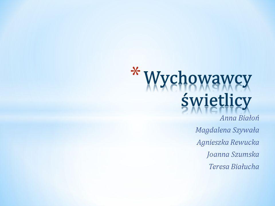 Anna Białoń Magdalena Szywała Agnieszka Rewucka Joanna Szumska Teresa Białucha