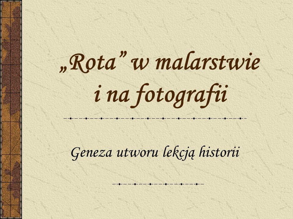 Maria Konopnicka (1842-1910) – autorka słów Roty Poetka, nowelistka, pisarka utworów dla dzieci, publicystka, tłumaczka.
