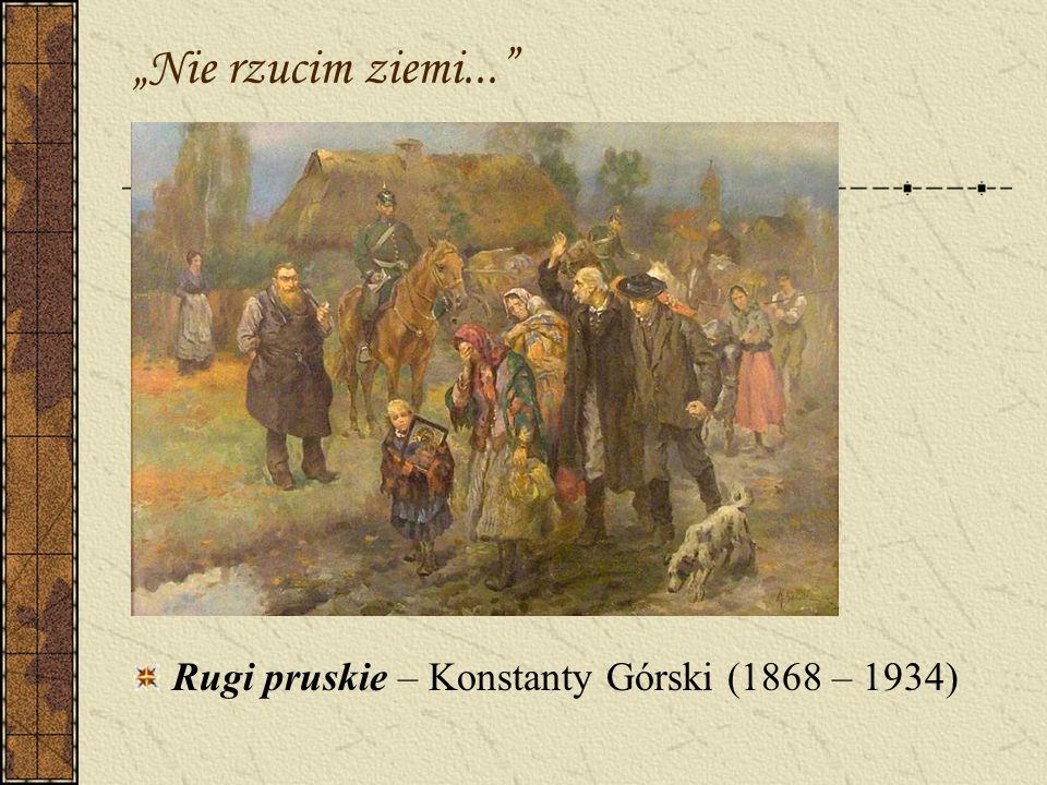 Krzyżacka zawierucha Pomnik Grunwaldzki dziś 14 października 1972 roku powołano w Krakowie Komitet Odbudowy Pomnika Grunwaldzkiego.