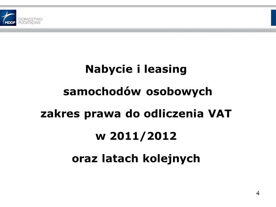 Nieodpłatne świadczenie usług (1) Do 31.03.2011 r.