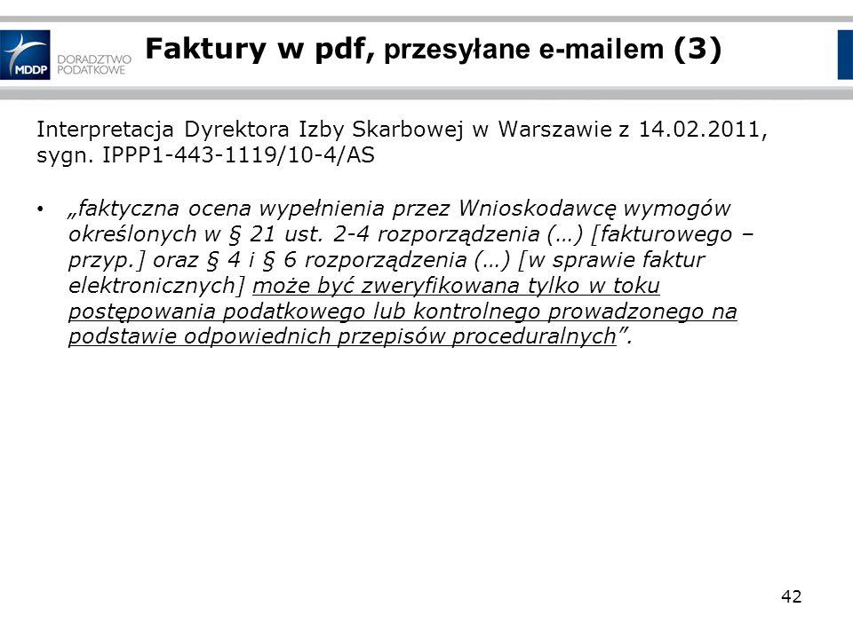 Interpretacja Dyrektora Izby Skarbowej w Warszawie z 14.02.2011, sygn. IPPP1-443-1119/10-4/AS faktyczna ocena wypełnienia przez Wnioskodawcę wymogów o