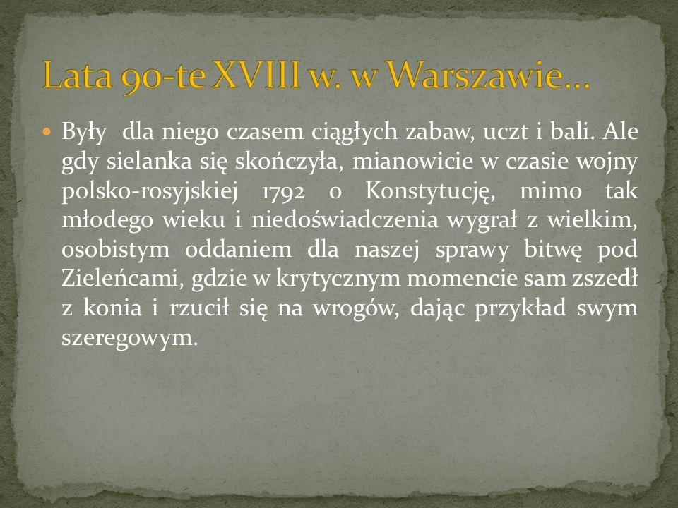January Suchodolski - Śmierć księcia Józefa Poniatowskiego pod Lipskiem Obraz ten znajduje się w Muzeum Narodowym w Warszawie