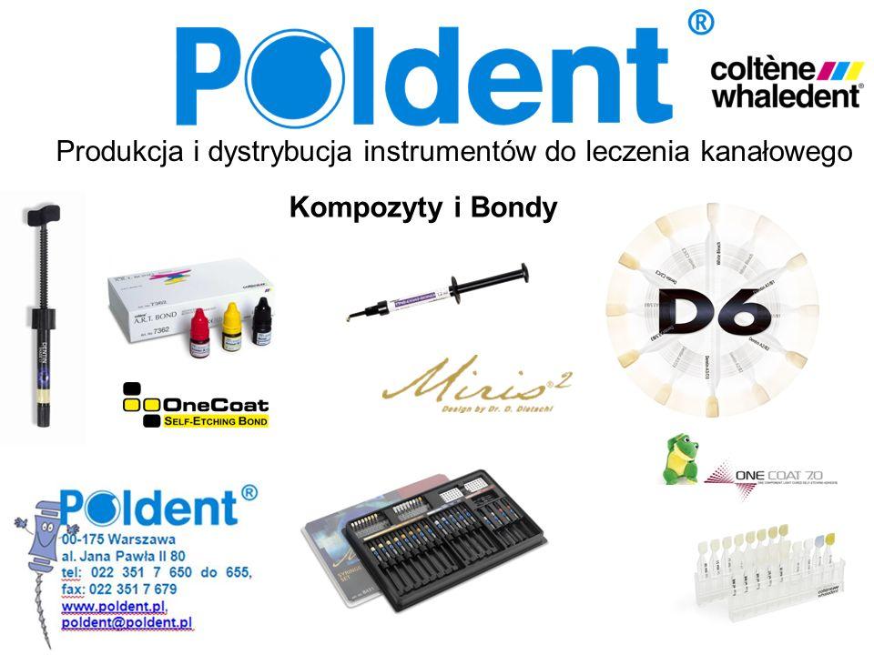Produkcja i dystrybucja instrumentów do leczenia kanałowego Kompozyty i Bondy