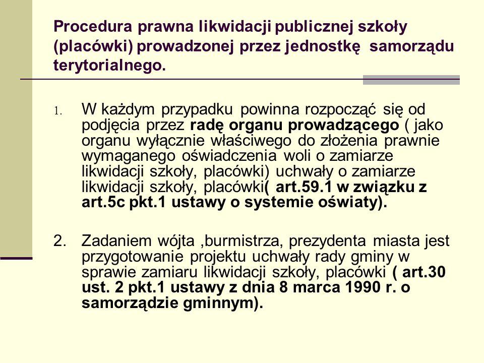 Zakładanie i prowadzenie szkół publicznych przez inne podmioty Osoba prawna lub fizyczna może zakładać szkoły publiczne ( art..5 ust.2 pkt.
