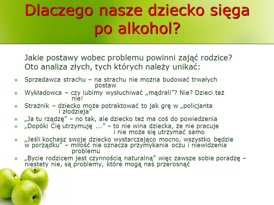 Dlaczego nasze dziecko sięga po alkohol? Jakie postawy wobec problemu powinni zająć rodzice? Oto analiza złych, tych których należy unikać: Sprzedawca