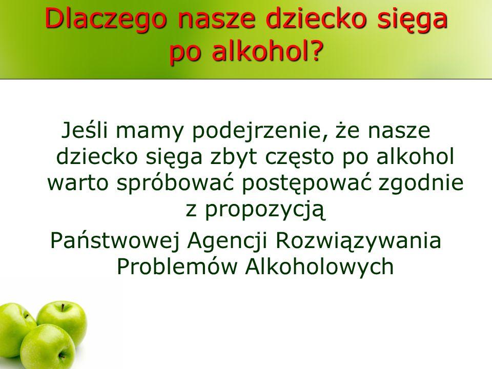 Dlaczego nasze dziecko sięga po alkohol? Jeśli mamy podejrzenie, że nasze dziecko sięga zbyt często po alkohol warto spróbować postępować zgodnie z pr
