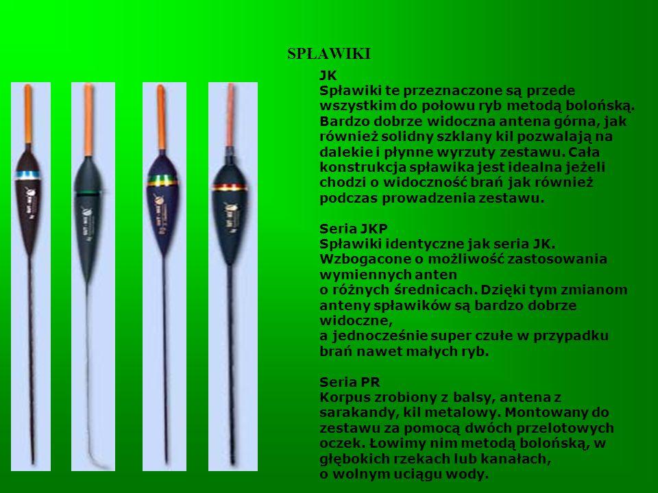 SPŁAWIKI PJ Korpus zrobiony z balsy, antena plastikowa fluo.