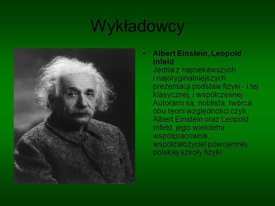 Wykładowca nr 2 Choć pretekstem do skonstruowania tego obszernego i napisanego z wielkim poczuciem humoru wykładu były poszukiwania teorii ostatecznej, tłumaczy on wszystkie najważniejsze teorie fizyczne, od atomizmu starożytnych po fizykę cząstek elementarnych i Wielki Wybuch.