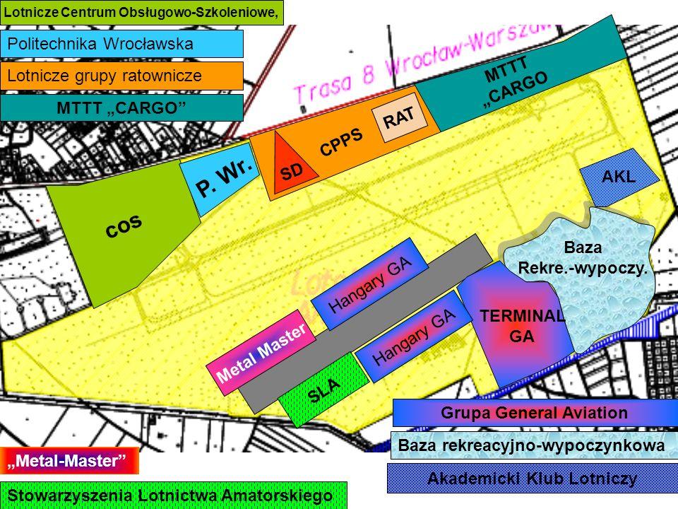 SD Metal Master Hangary GA SLA cos Lotnicze Centrum Obsługowo-Szkoleniowe, Politechnika Wrocławska P.