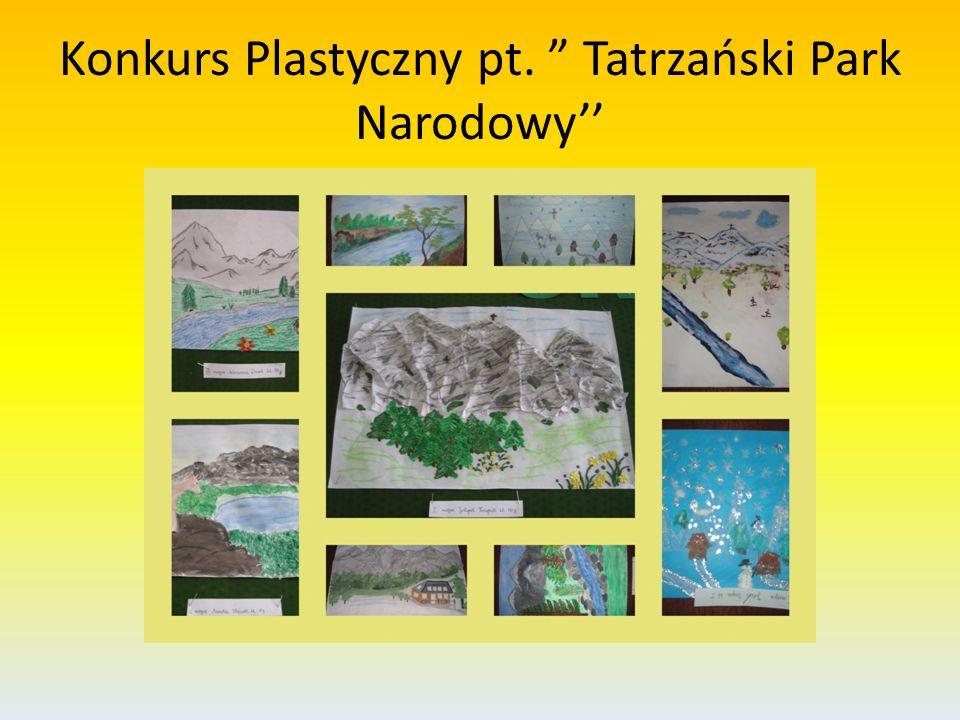 Konkurs Plastyczny pt. Tatrzański Park Narodowy
