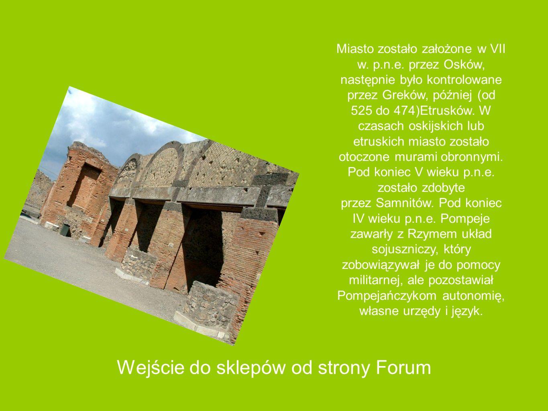 Forum w Pompejach
