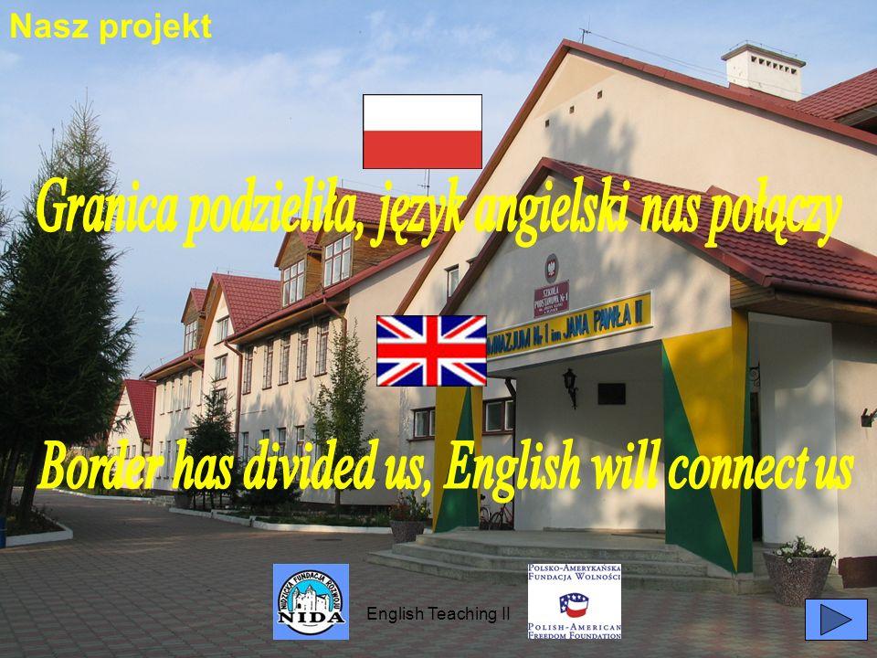 English Teaching II Nasz projekt