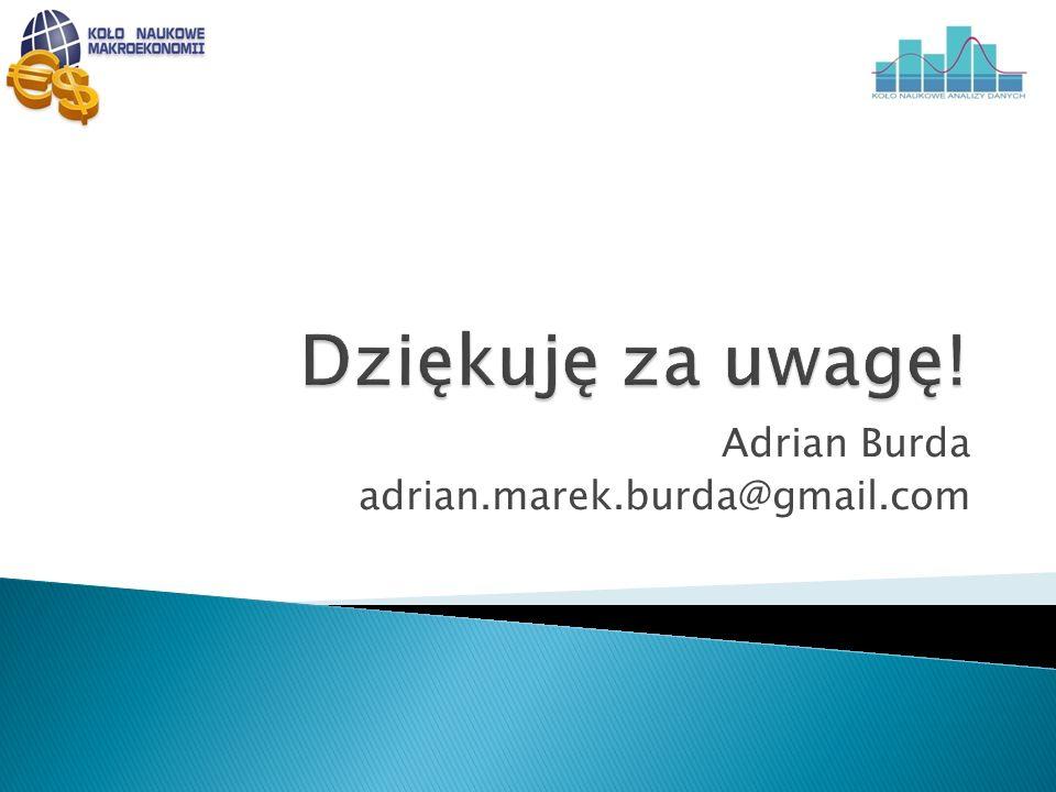 Adrian Burda adrian.marek.burda@gmail.com