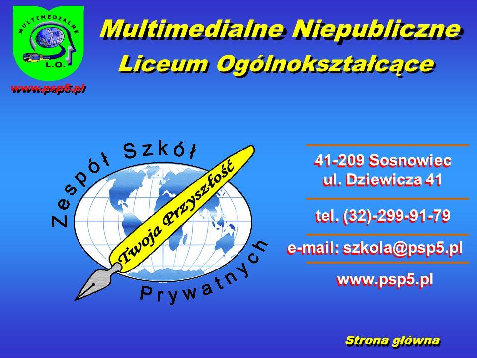 41-209 Sosnowiec ul. Dziewicza 41 41-209 Sosnowiec ul.