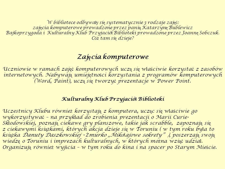 Bajkoprzygoda W naszej bibliotece dzia ł a Agencja Detektywistyczna Cierpliwy Molik.