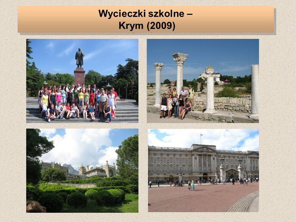 Wycieczki szkolne – Krym (2009)