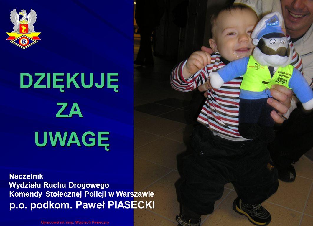 Naczelnik Wydziału Ruchu Drogowego Komendy Stołecznej Policji w Warszawie p.o.