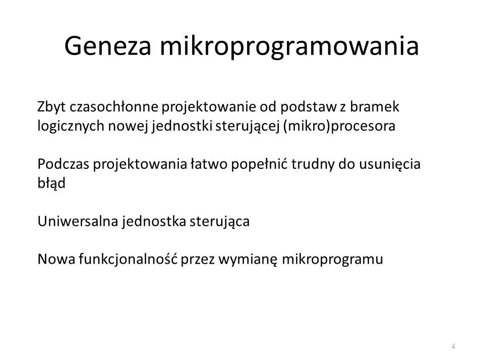 Mikroprogramowanie 5