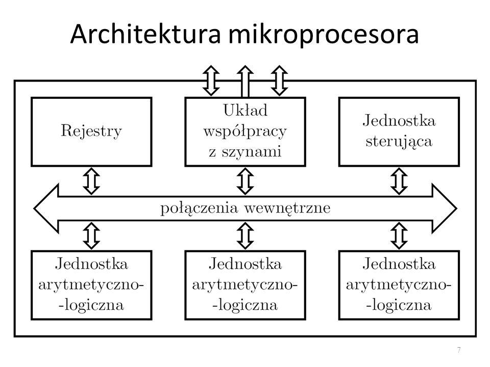 Architektura mikroprocesora 7