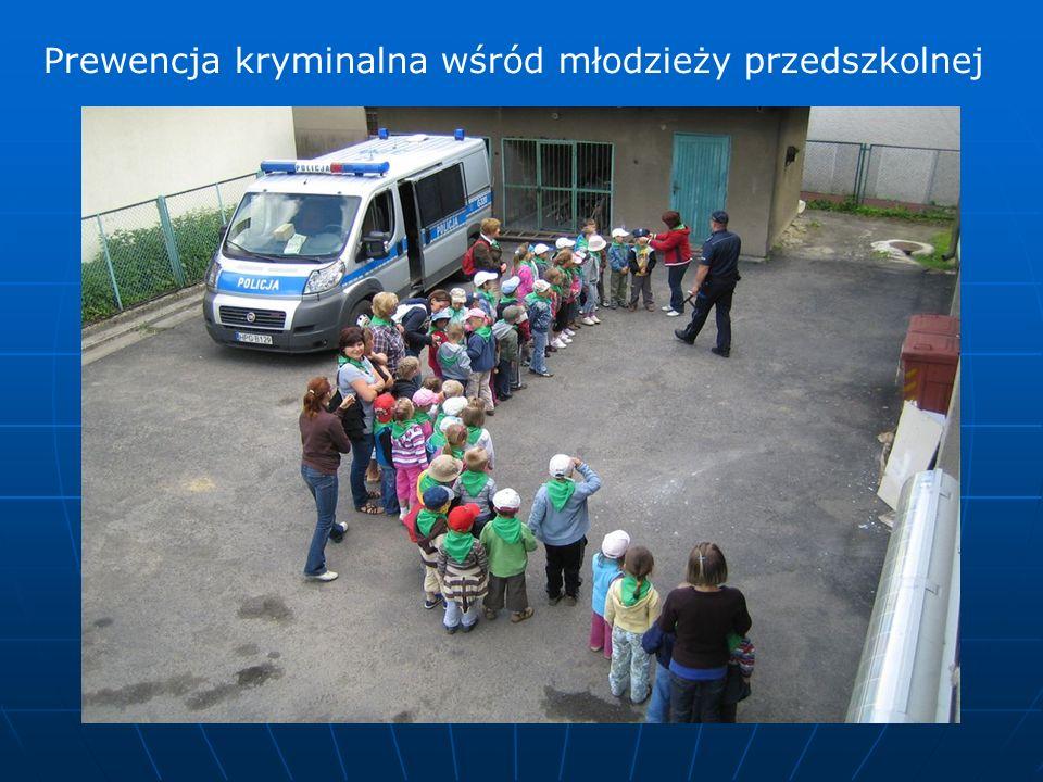 Prewencja kryminalna wśród młodzieży przedszkolnej