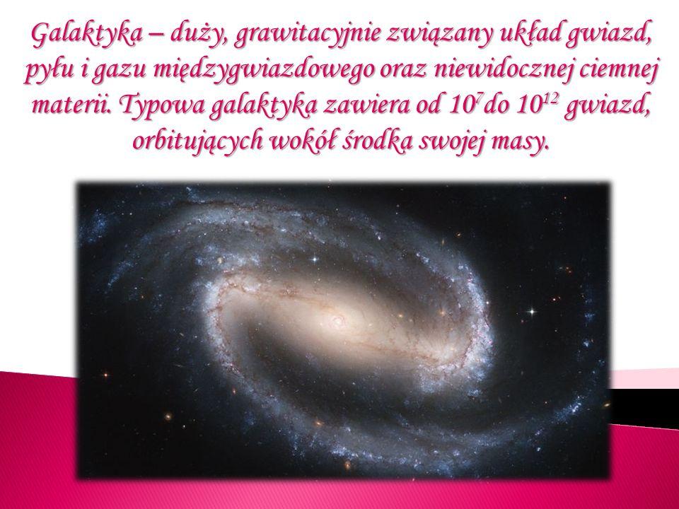 Oprócz pojedynczych gwiazd, galaktyki zawierają dużą liczbę układów gwiazd oraz różnego rodzaju mgławice.