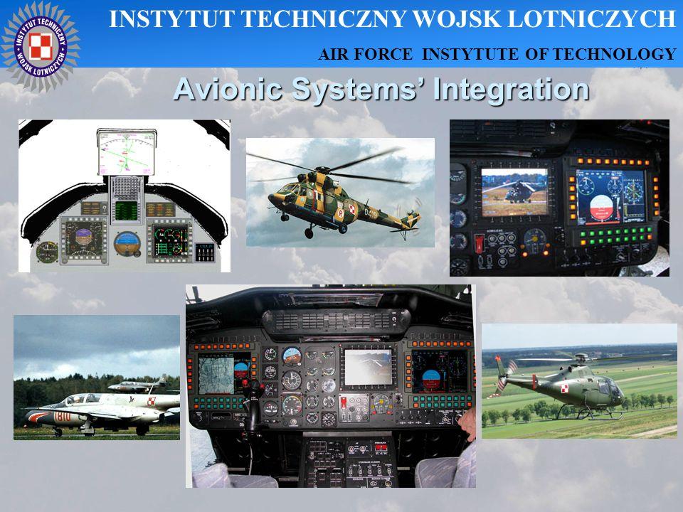 Avionic Systems Integration INSTYTUT TECHNICZNY WOJSK LOTNICZYCH AIR FORCE INSTYTUTE OF TECHNOLOGY